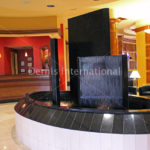 SpringHill Suites Stone Water Feature