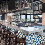 Quartz Bar and Drink rail